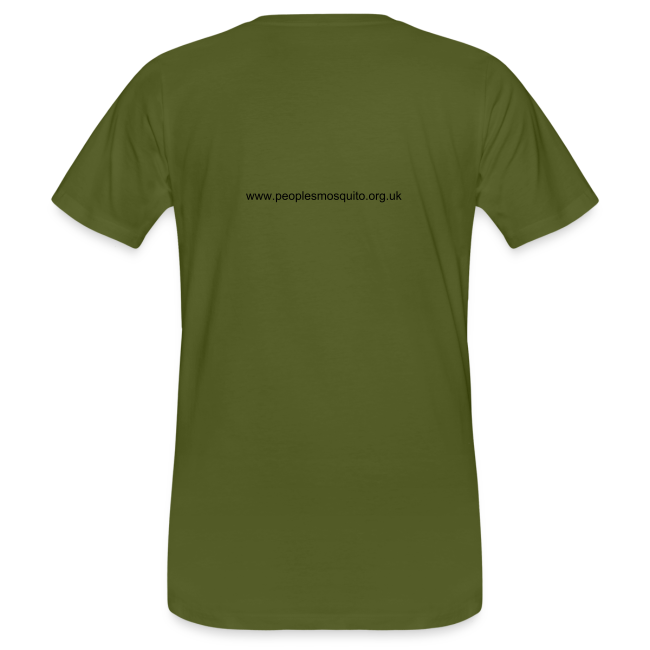 Men's Chest MP Logo Organic T-Shirt - Green