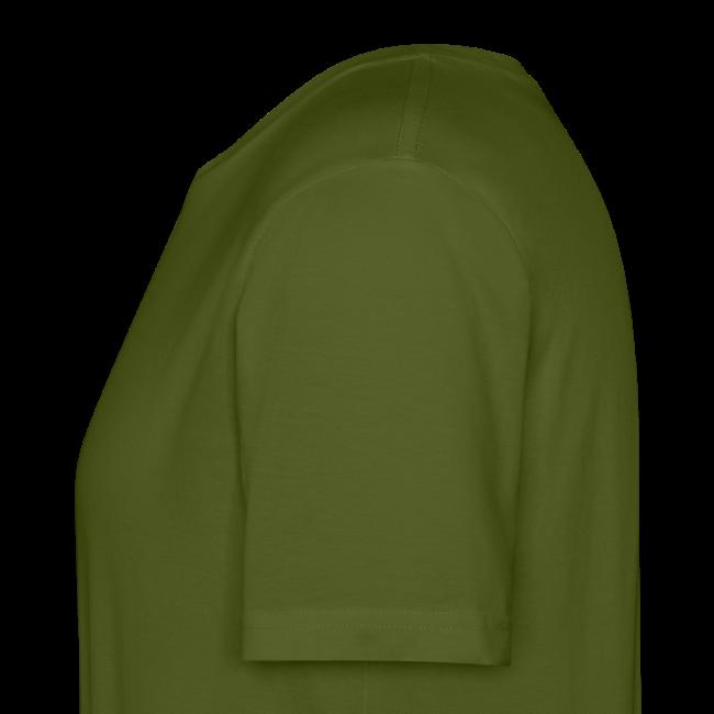 Men's Neck MP Logo Organic T-Shirt - Green