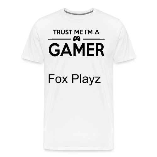 Fox Playz | Premium T-skjorte for menn - Premium T-skjorte for menn