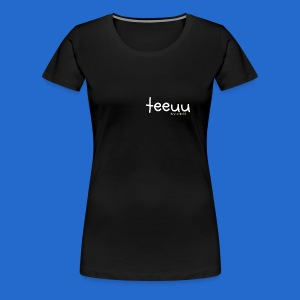 Simple teeuu without character WOMEN'S T SHIRT - Women's Premium T-Shirt