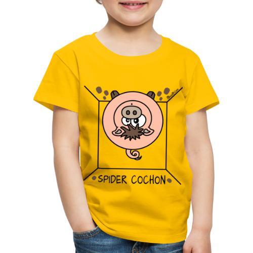 Tee shirt Premium Enfant, Spider Cochon, Homer  - T-shirt Premium Enfant