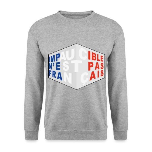 Impaucible n'est pas français - Sweat-shirt Homme