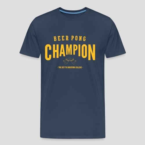 Beerpong Champion Shirt - Männer Premium T-Shirt
