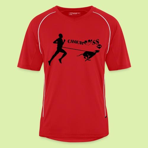 maillot sport canicross homme Inscription du nom de l'équipe dans le dos - Maillot de football Homme
