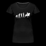 T-Shirts ~ Frauen Premium T-Shirt ~ Damen T-Shirt Evolution