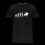 T-Shirts ~ Männer Premium T-Shirt ~ Herren T-Shirt Evolution Tölt