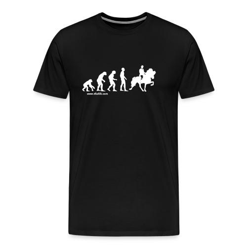 Herren T-Shirt Evolution Tölt - Männer Premium T-Shirt