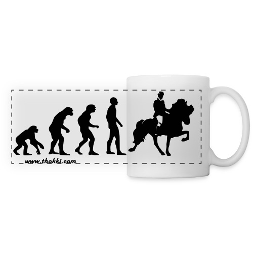 Tasse Evolution Tölt - Panoramatasse