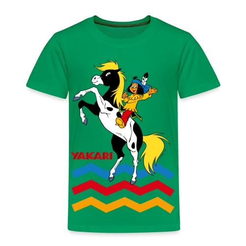 Yakari - kleiner Donner steigt - T-Shirt - Kinder Premium T-Shirt