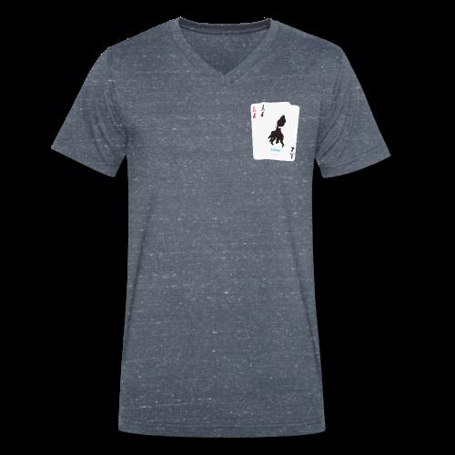 Bio Tshirt Gambler ColV LUI - T-shirt bio col V Stanley & Stella Homme