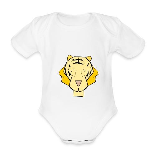 Body bébé : Tigrou le tigre (jaune 1) - Body bébé bio manches courtes