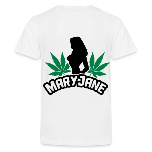 Weed t-shirt - Teenager premium T-shirt