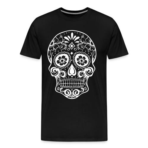 tee shirt tête de mort  - T-shirt Premium Homme