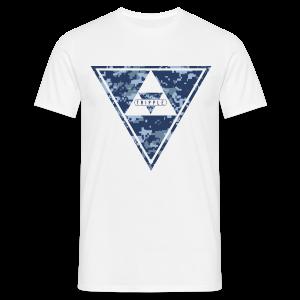 Tripple Pixel  - Mannen T-shirt