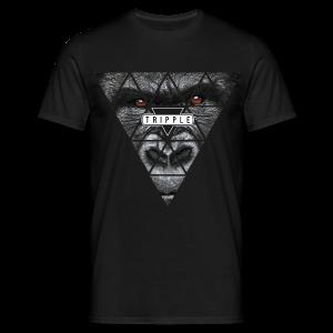 Tripple Gorilla - Mannen T-shirt