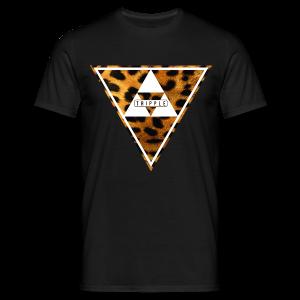 Tripple Tiger  - Mannen T-shirt