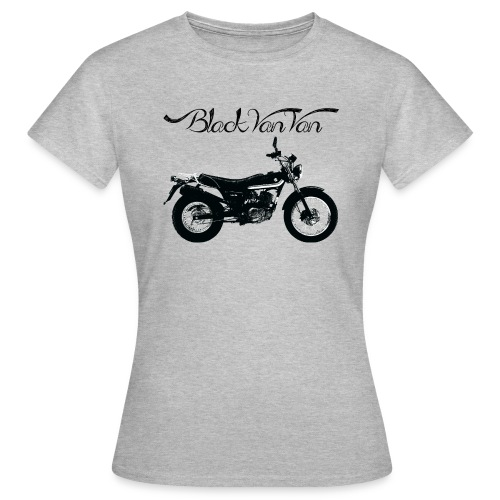 Black VanVan Woman - Women's T-Shirt