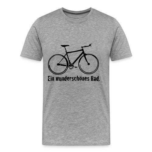 Herren Premium T-Shirt Ein wunderschönes Rad - Männer Premium T-Shirt