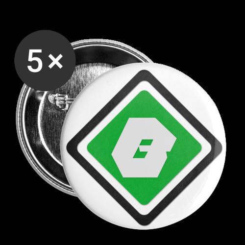 Badge Bro'casters - Badge moyen 32 mm