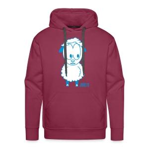 Hoodie Wolle - Mannen Premium hoodie