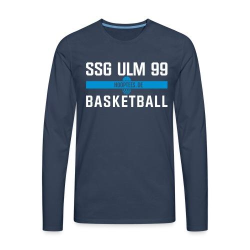 SSG Ulm Basketball Longsleeve - Männer Premium Langarmshirt