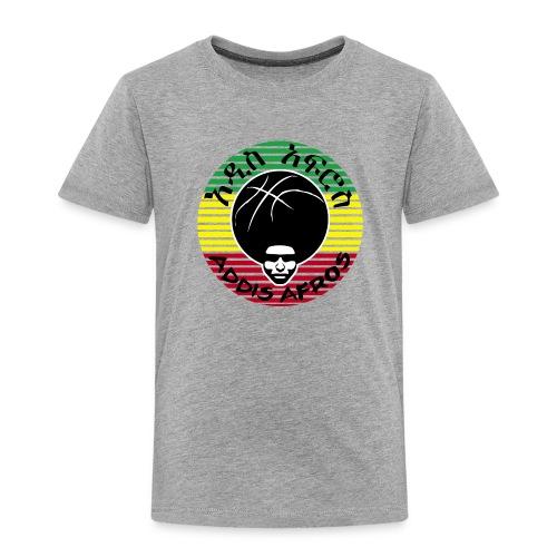 Kids T-Shirt Ethiopian Flag - Kinder Premium T-Shirt