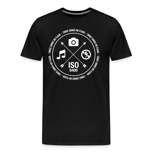 3 Songs No Flash - Herren Premium T-Shirt - Männer Premium T-Shirt