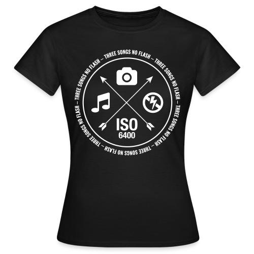 3 Songs No Flash Damen Shirt - Frauen T-Shirt
