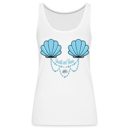 Mermaid Tank Blue - Frauen Premium Tank Top