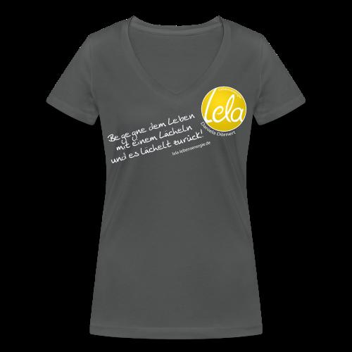 Lela T-Shirt - Frauen Bio-T-Shirt mit V-Ausschnitt von Stanley & Stella