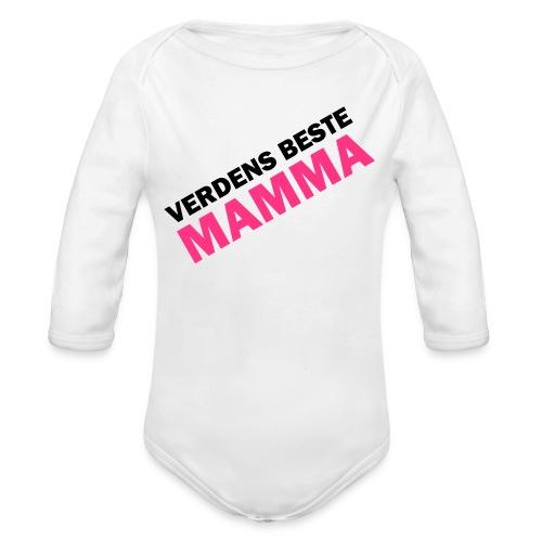 Babybody for mamma - Økologisk langermet baby-body