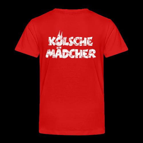 Kölsche Mädcher (Vintage Weiß) Kinder T-Shirt - Kinder Premium T-Shirt