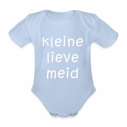 Romper - lieve meid - Baby bio-rompertje met korte mouwen