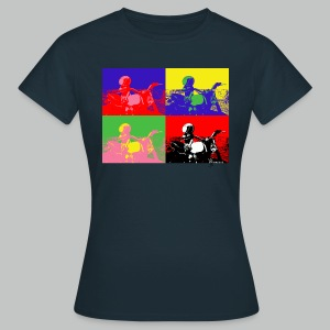 Angeland Thrills Pop Art 2  - Women's T-Shirt