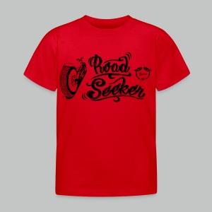 Kids' Road Seeker V Twin - Black logo - Kids' T-Shirt