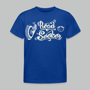 Kids' Road Seeker V Twin - White/Beige logo - Kids' T-Shirt