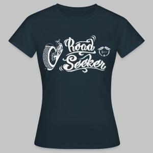 Road Seeker V Twin - White logo - Women's T-Shirt