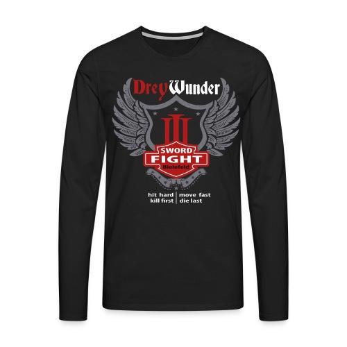 3W14 - Langarm Streetwear Edition - Männer Premium Langarmshirt
