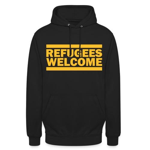 Refugees Welcome Hoddie 6 - Unisex Hoodie