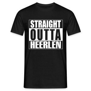 Straight outta Heerlen T-shirt - Mannen T-shirt