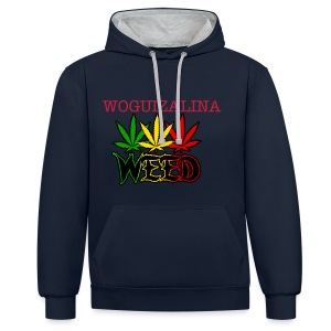 WOGUIZALINA 2015 - Sweat-shirt contraste