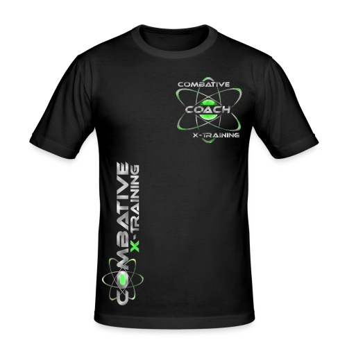 COACH_green - Männer Slim Fit T-Shirt