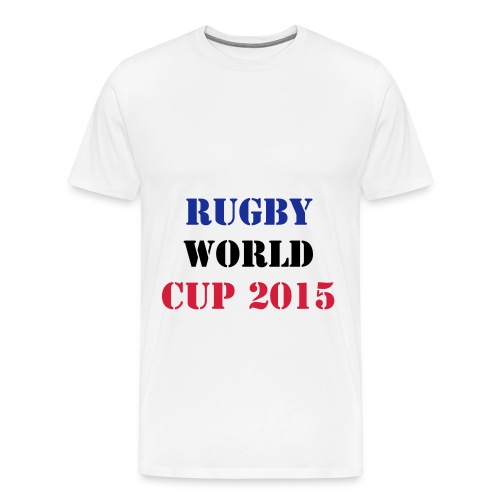 TEE-SHIRT RUGBY WORLD CUP 2015  - T-shirt Premium Homme