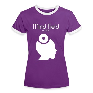 Mind Field Records Women's - The Label T-Shirt - Women's Ringer T-Shirt