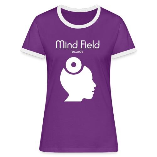 Mind Field Records Women's - The Label T-Shirt - Women's Ringer T-Shirt