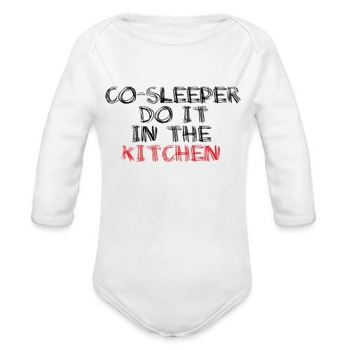 Co-sleeper do it in the kitchen - Baby Bio-Langarm-Body