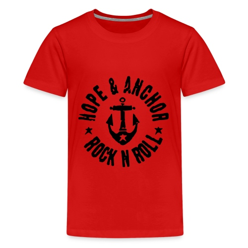 Hope and Anchor Rock and Roll - Teenager Premium T-Shirt