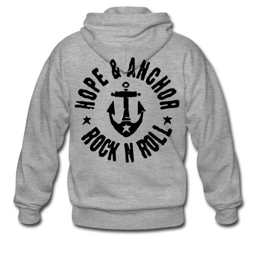 Hope & Anchor Sweatshirt - Männer Premium Kapuzenjacke