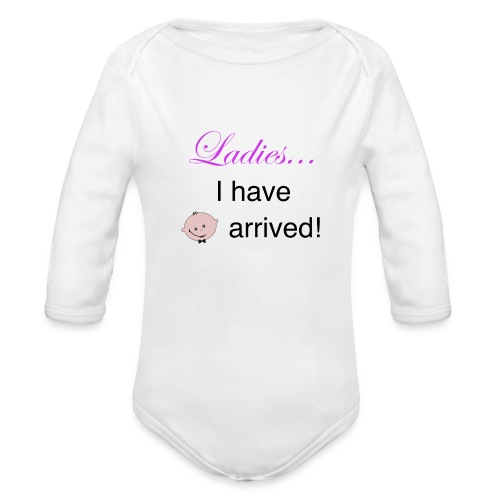 Ladies...I have arrived - Baby Bio-Langarm-Body