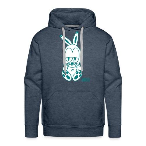 Hoodie Rabbe - Mannen Premium hoodie